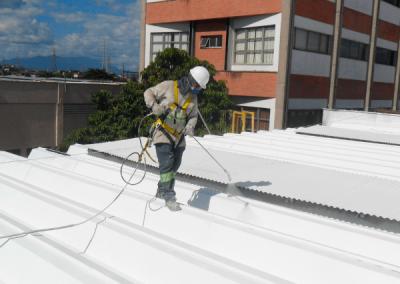 impermeabilizando telhado