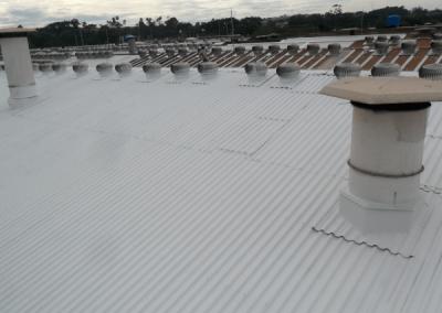 telhado com impermeabilização
