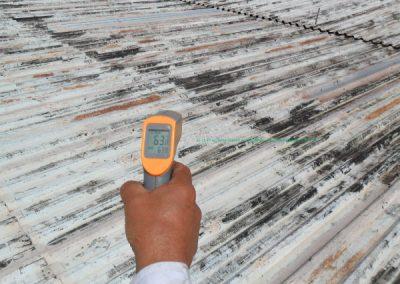 temperatura telhado industrial