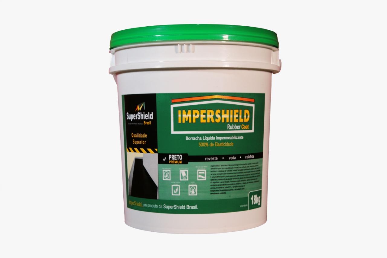 Impershield Rubber Coat – Preto