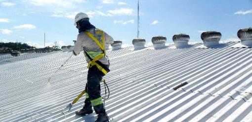 impermeabilização de telhados industriais